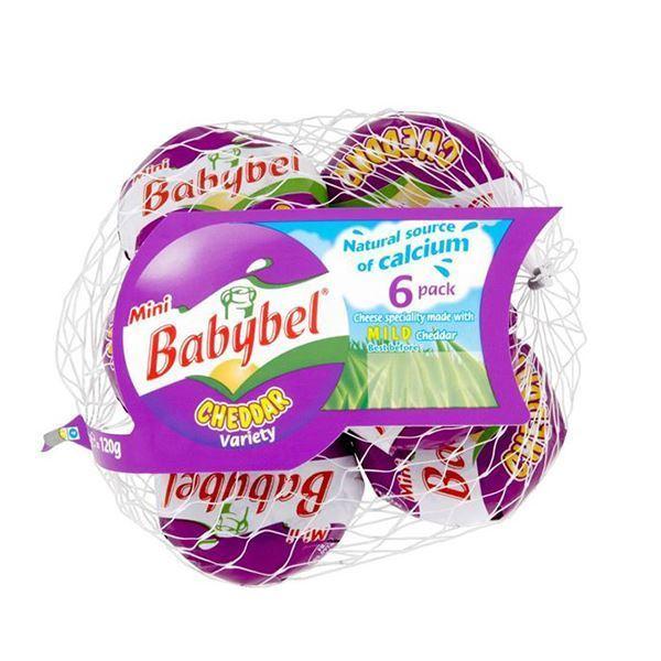 Picture of BABYBEL CHEDDAR PACK 5 X 20 G (FRANCE)