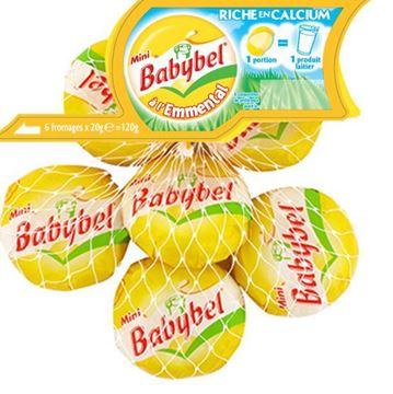 Imagen de BABYBEL EMMENTAL PACK 6 X 20 G (FRANCIA)