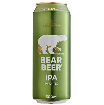 Imagen de BEAR BEER IPA 5,6% 500 ML (DINAMARCA)