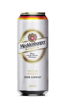 Picture of MECKLENBURGER WEISSBIER (WHEAT) 5,1% 500 ML (GERMANY)