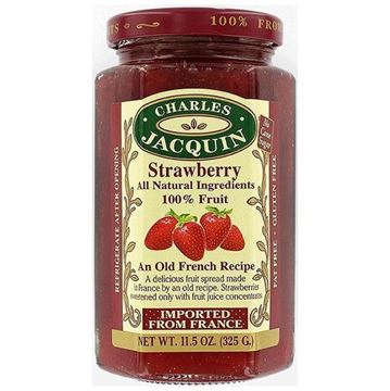 Picture of STRAWBERRY JAM 325 GR - NO ADD SUGAR AND WITHOUT GLUTEN (FRANCE)