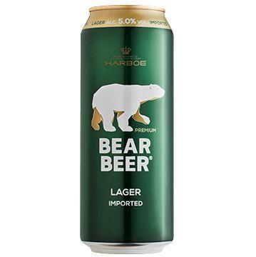 Imagen de BEAR BEER LAGER 5% 500 ML (ALEMANIA)