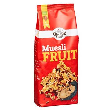 Picture of ORGANIC MUESLI WITH FRUIT 325 GR - GLUTEN FREE (GERMANY)