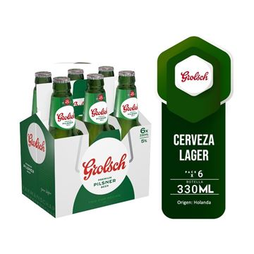 Picture of GROLSCH SIX PACK 330 ML (HOLLAND)