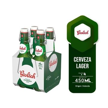 Picture of GROLSCH FOUR PACK 450 ML (HOLLAND)