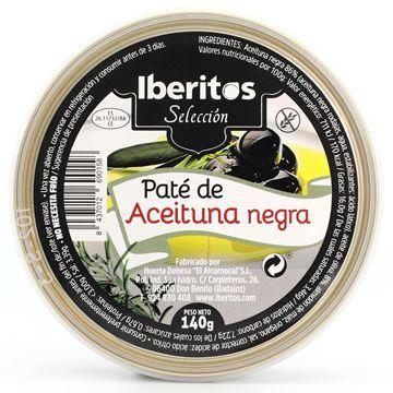 Imagen de PATÉ DE ACEITUNA NEGRA - SIN GLUTEN  140 GR (ESPAÑA)