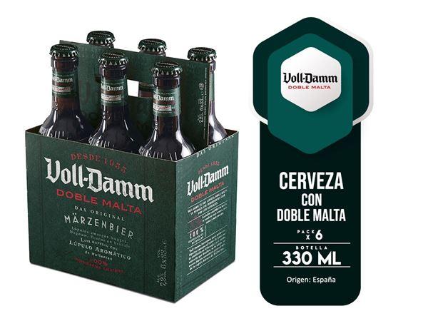 Imagen de VOLL DAMM SIX PACK DOBLE MALTA 330 ML (ESPAÑA)