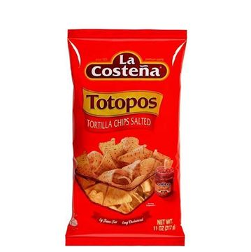 Picture of TOTOPOS 312 GR 100% CORN FLOUR (MEXICO)