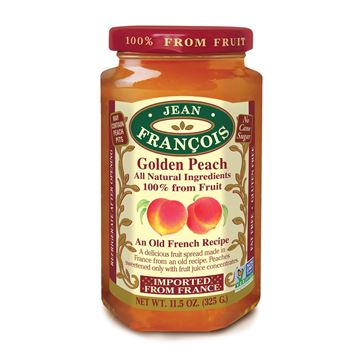 Picture of PEACH JAM 325 GR - NO ADD SUGAR AND WITHOUT GLUTEN (FRANCE)
