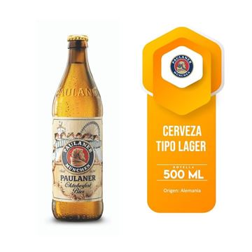 Picture of PAULANER OKTOBERFEST 500 ML (GERMANY)