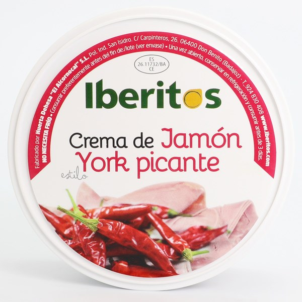 Imagen de CREMA DE JAMÓN ESTILO YORK PICANTE - SIN GLUTEN 250 GR (ESPAÑA)