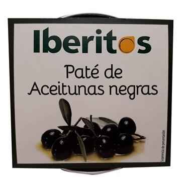 Imagen de PATÉ DE ACEITUNA NEGRA - SIN GLUTEN 70 GR (ESPAÑA)