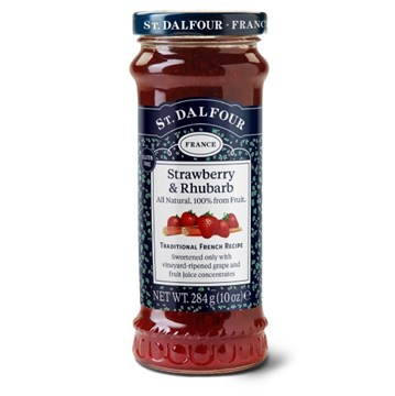 Picture of StDalfour refresh 10oz 3D strawberry rhubarb gluten free UK