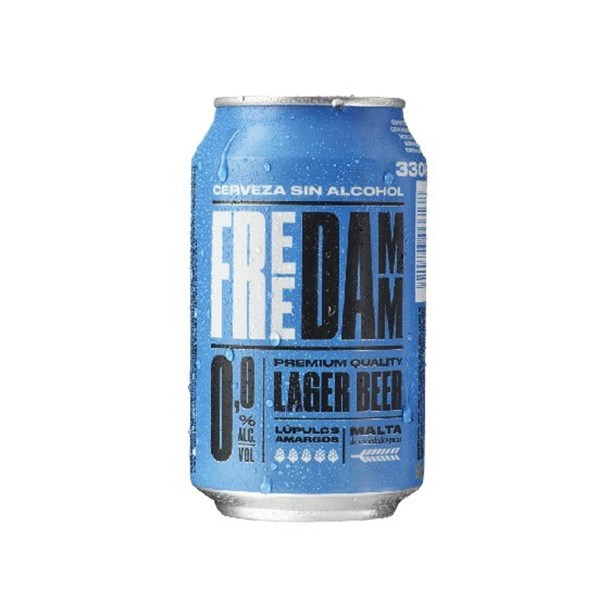 Picture of DAMM CAN 0,0% ALCOHOL 330 ML (SPAIN)