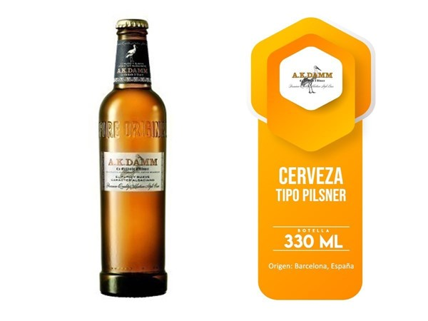 Picture of AK DAMM 330 ML (SPAIN)